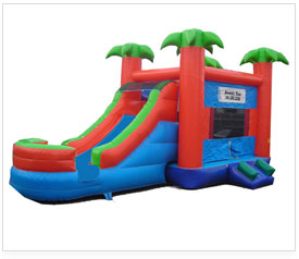 bounce house slide combo corporate rentals