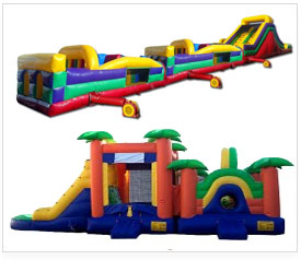 obstacle course corporate rentals