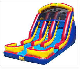 inflatable slides corporate rentals