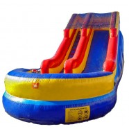 18ft MODULAR WET or DRY SLIDE