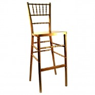 BAR STOOL CHIAVARI GOLD