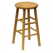 BAR STOOL OAK 29