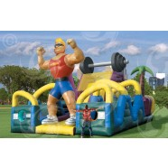 IRON MAN DRY OBSTACLE COURSE corporate rental