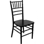 CHAIR CHIAVARI BLACK RESIN