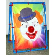 CLOWN BEAN BAG TOSS corporate rental