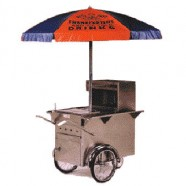 CONCESSION HOT DOG CART