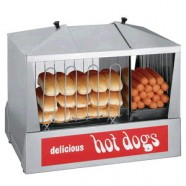 CONCESSION HOT DOG STEAMER