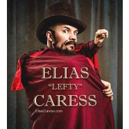 "ELIAS ""LEFTY"" CARESS MAGICIAN & ENTERTAINER corporate rental hire"