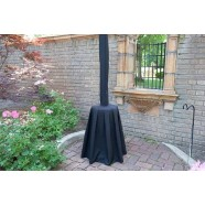 HEATER PATIO COVER BLACK corporate rental