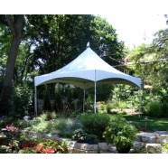SHOW STYLE HIGH PEAK CANOPIES 15' WIDE corporate rental