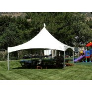 SHOW STYLE HIGH PEAK CANOPIES 20' WIDE corporate rental
