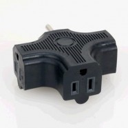 POWER CORD SPLITTER TRIPLE TAP