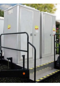 SOLAR VIP TOILET LINE corporate rental