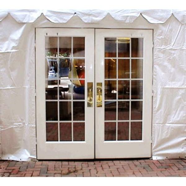 CANOPY FRENCH DOOR corporate rental