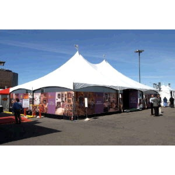 SHOW STYLE HIGH PEAK CANOPIES 30 -40' WIDE corporate rental
