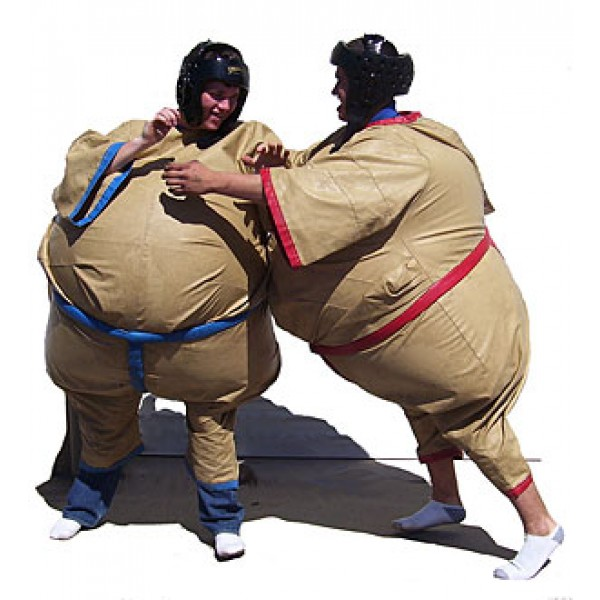 ADULT INFLATABLE SUMO SUITS corporate rental