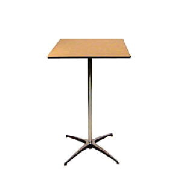 TABLE PEDESTAL SQUARE corporate rental