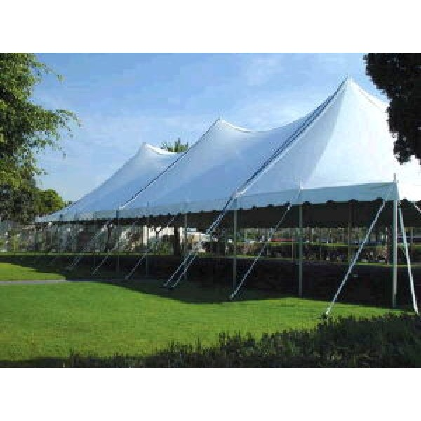 POLE TENTS 40' WIDE corporate rental