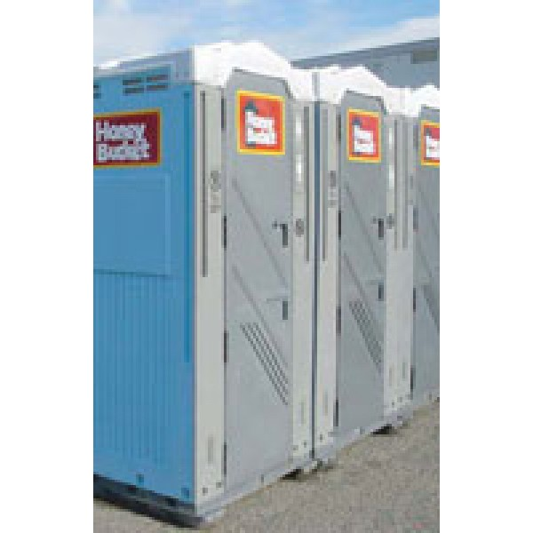 STANDARD PORTABLE TOILET UNITS corporate rental