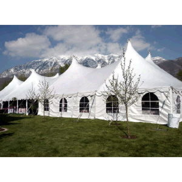 TWIN POLE TENTS 60' WIDE corporate rental