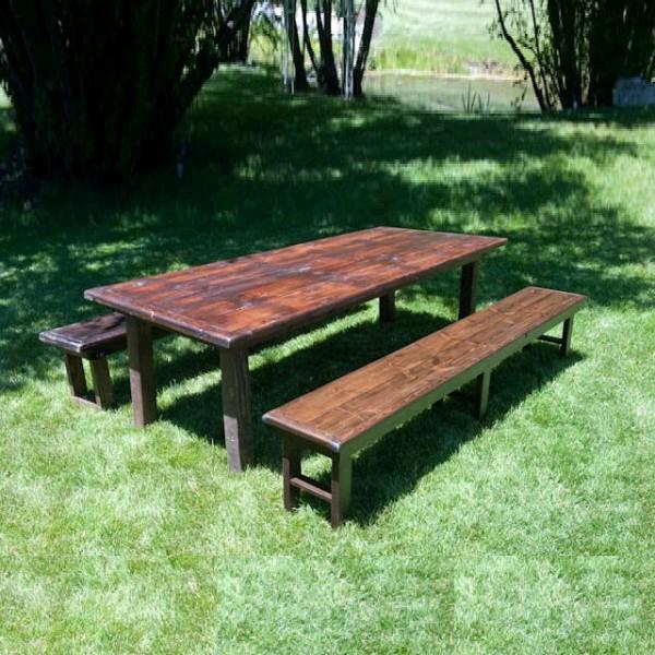 TABLE WOOD VINEYARD corporate rental