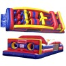 7 ELEMENT DRY OBSTACLE COURSE corporate rental